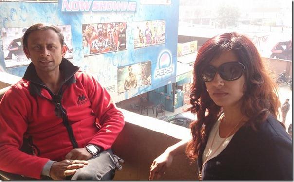raju Giri and Suvekshya - tiger the real hero release