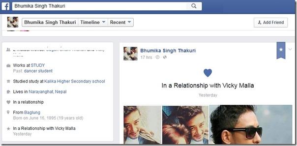 bhumika shai thakuri birthdate