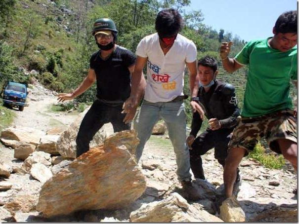 chankhe shankhe pankhe earthquake relief
