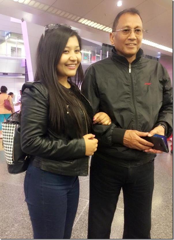Ashta Raut with Deep Shrestha
