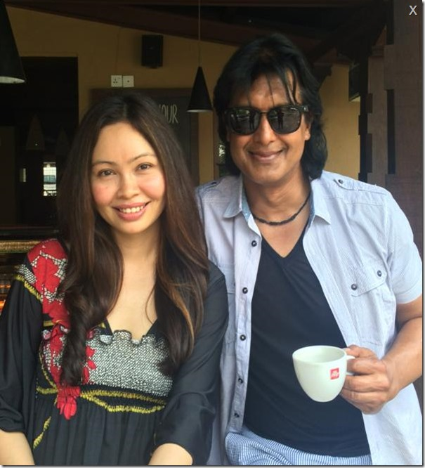 Rajesh hamal celebrates his first marriage anniversary in