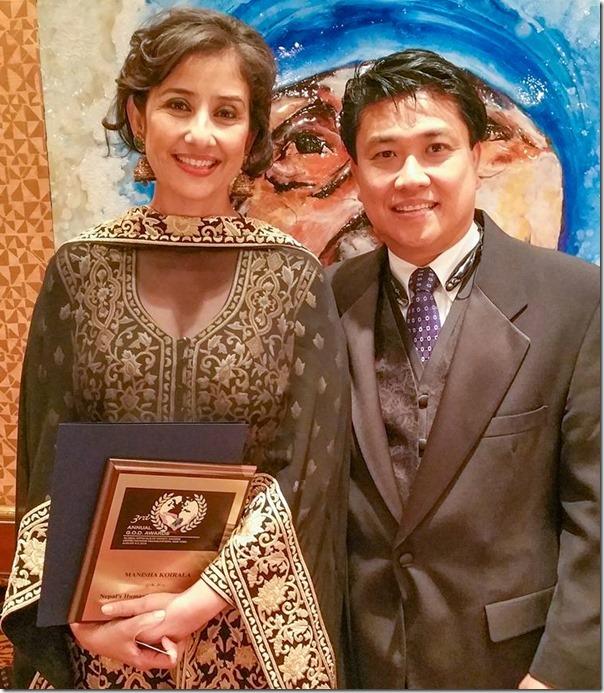 manisha koirla UN god awards1