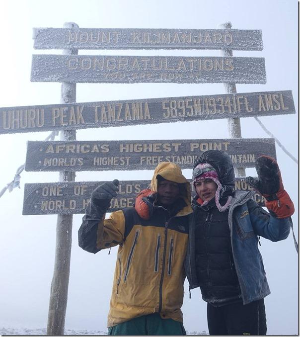 nisha adhikari mt. kilimanjaro peak3