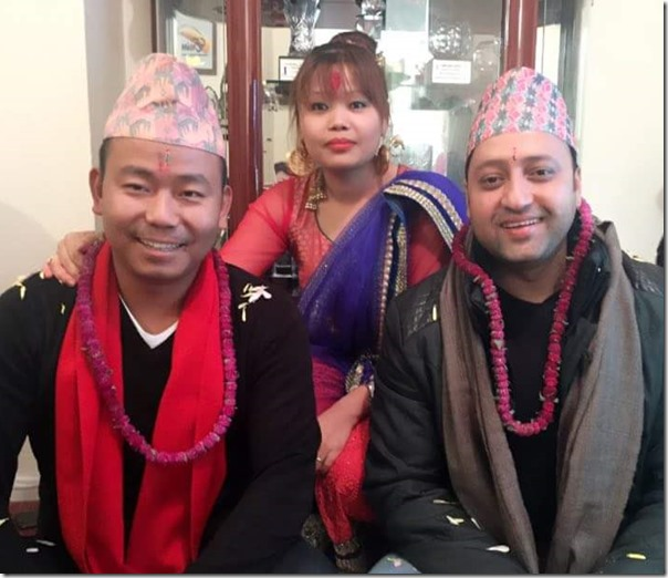 milan chams sapana chamling rai bhaitika 2015 in London