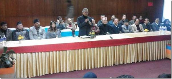 baburam bhattarai naya shakti members