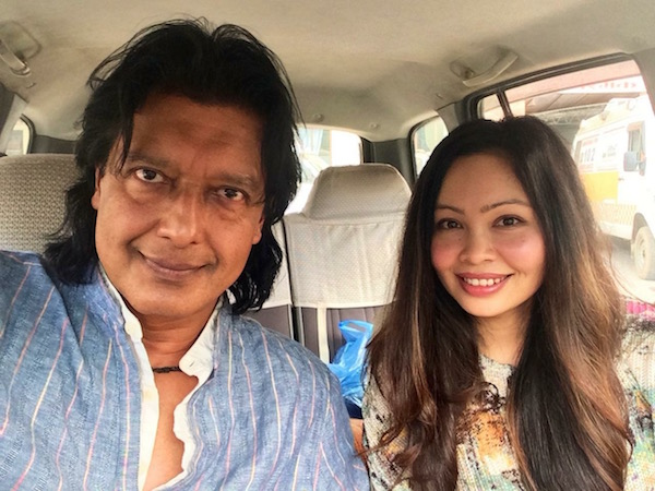rajesh hamal and madhu bhattarai happy birthday