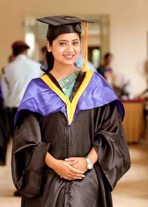 Keki adhikari graduation photo
