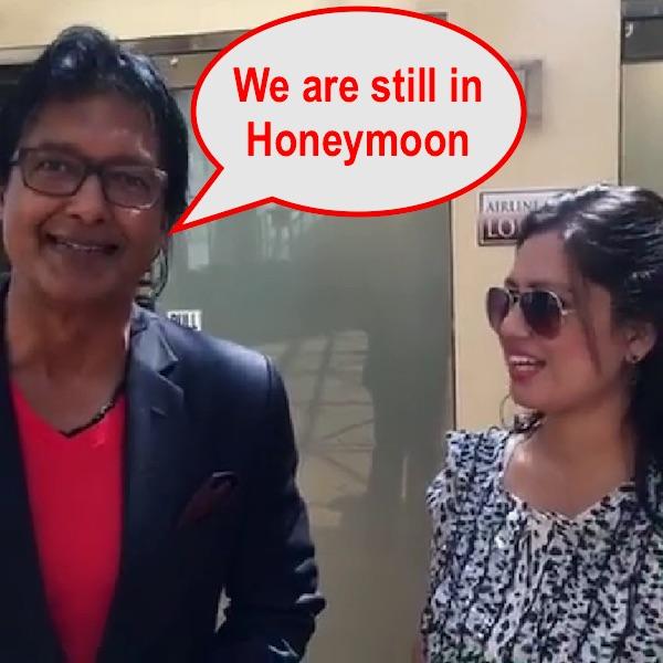 rajesh hamal interview we are still in honeymoon