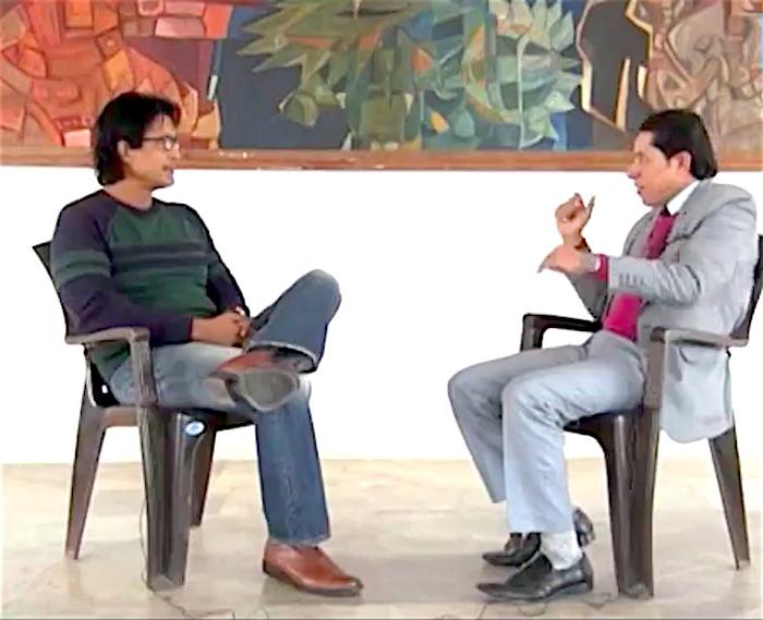 Rajesh Hamal and Rishi Dhamala