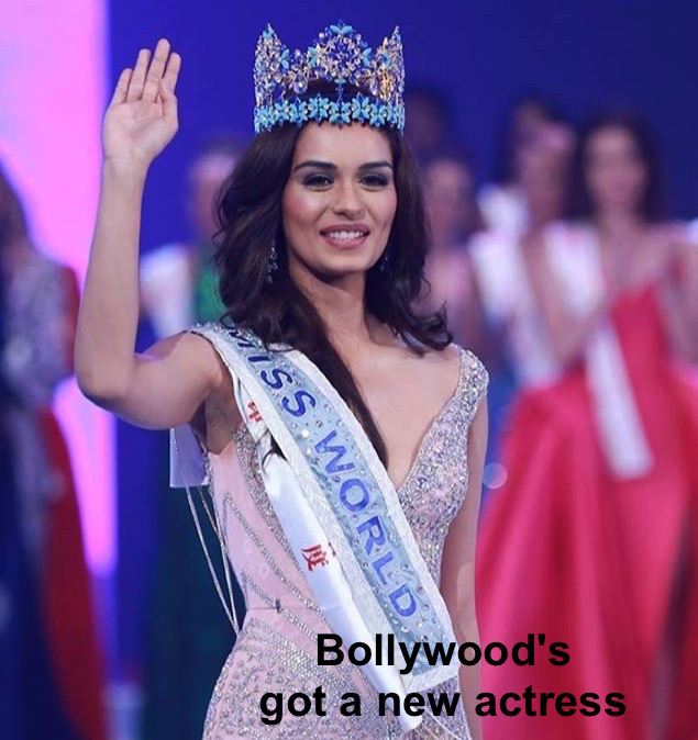 Bollywood's got a new actress, Miss World 2017 is Miss India, Manushi Chhillar