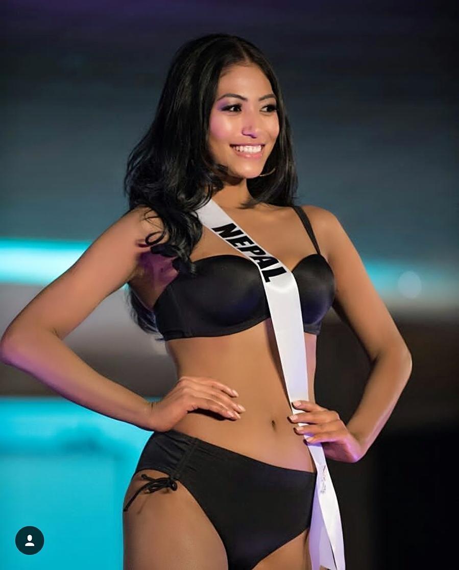 Miss Universe 2017 Nagma Shrestha >> Bikini pose of Miss Universe Nepal Nagma Shrestha (Hot Update) – Nepali Movies, films