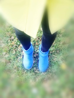 Cute Blue Uggs