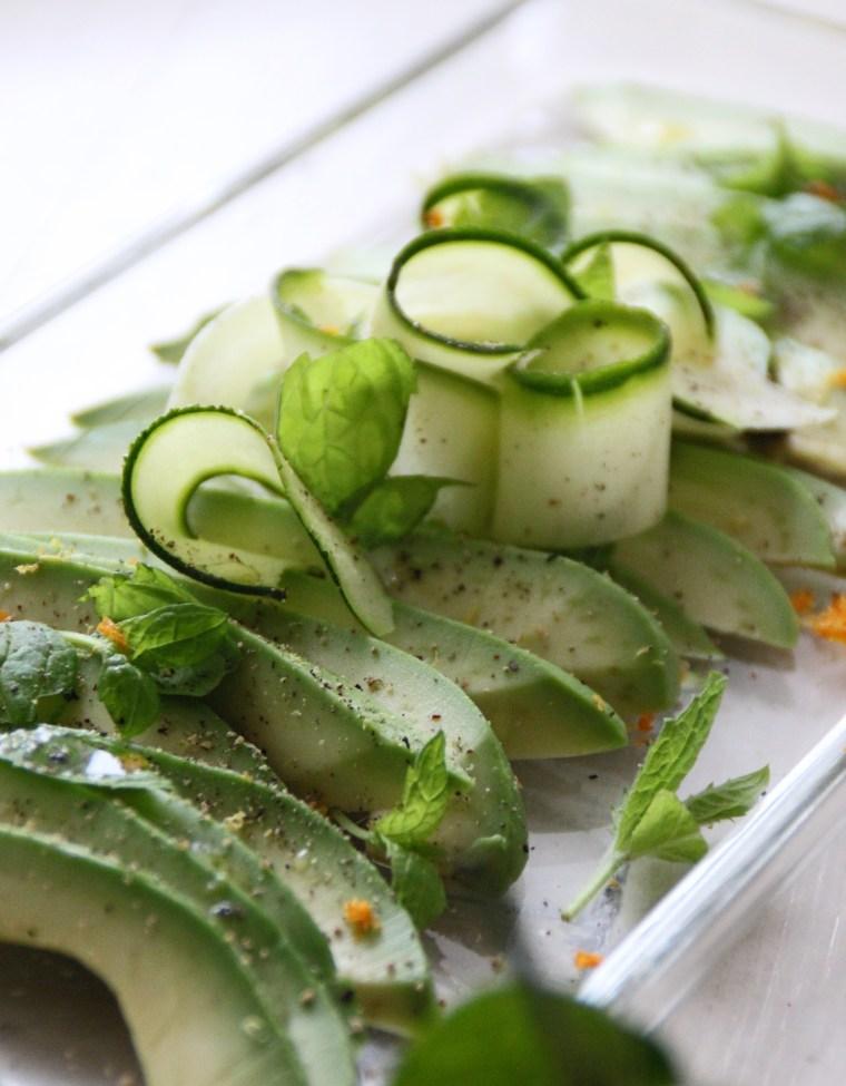 avocado plate