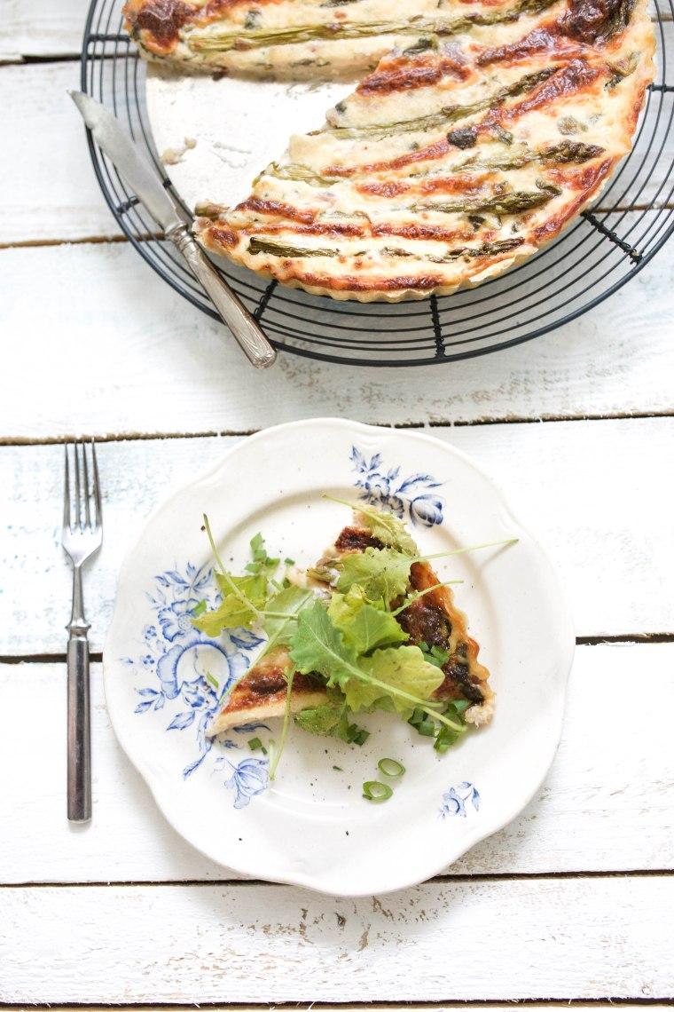asparagus pie1 (1 of 1)