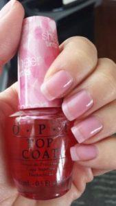 opi sheer nail polish