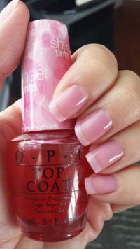 opi sheer nail polish