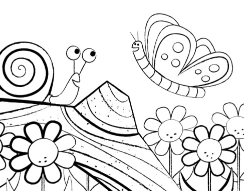 Colouring Pages by Christophe Jacques