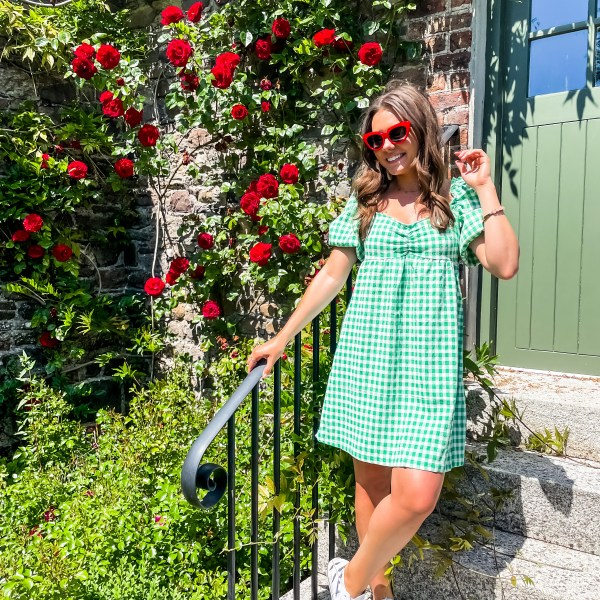 EIGHT GINGHAM DRESSES FOR YOUR SUMMER ADVENTURES