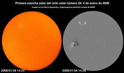 Nuevo ciclo Solar 24