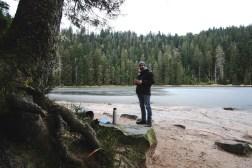 Natur in Stille... hier die Musik in meinen Ohren - angekommen (Wilder See)