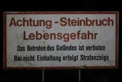 ...am Steinbruch Seebach