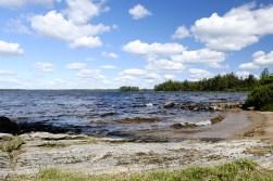 """Insel Bolmsö, nochmal... der Wind bließ ständig von der Wasserseite, die Temperaturen in der Sonne waren angenehm und wir allesamt entsprechend """"gechillt"""""""