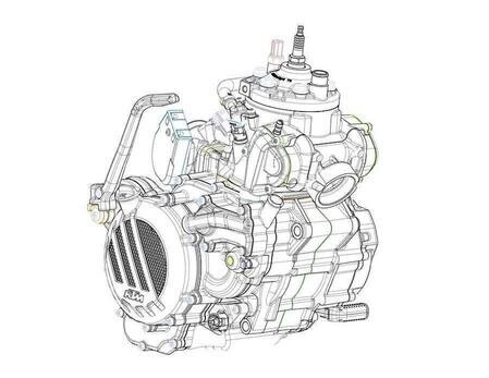 KTM lancia l'iniezione sui 2T. Di serie sulle EXC 2018