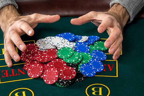 カジノ大量賭け