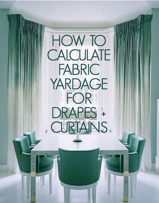 How To Measure For Curtain Fabric