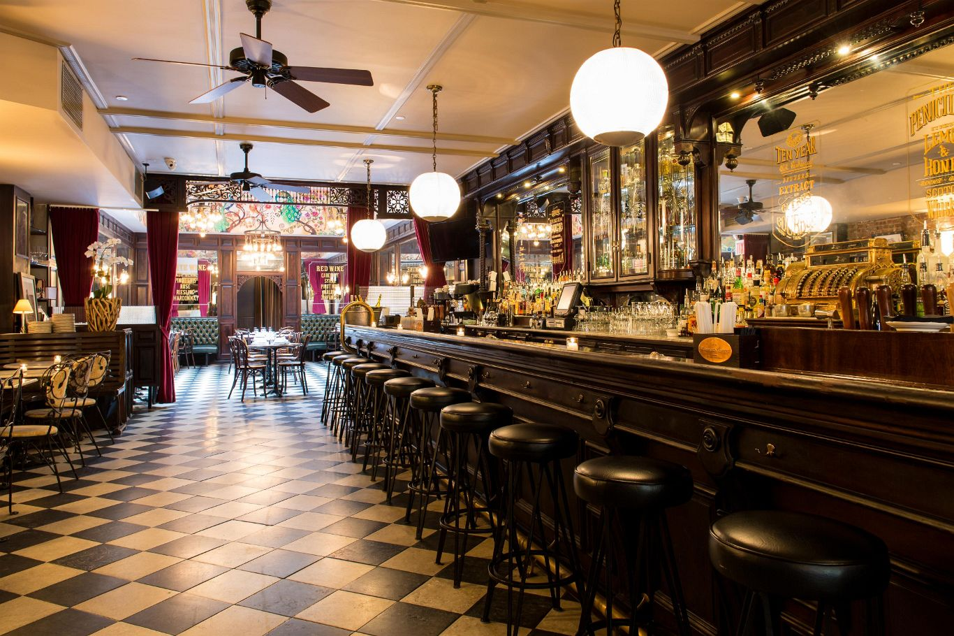 Restaurant Review The Bar Room NYC