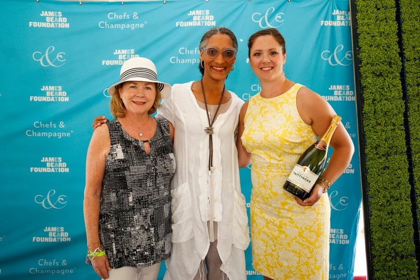 Susan Ungaro, Carla Hall, Carrie Lyn Strong