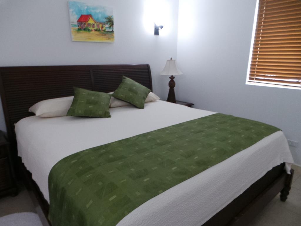 Comfy beds at Shoal Bay Villas