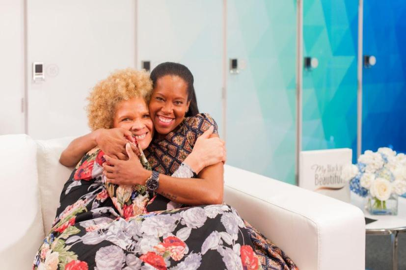 Nothing but Love between these two - Regina Kimg and Michaela Angela Davis Select