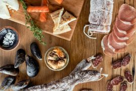 house-made-charcuterie-smoked-fish-in-particular-pork-lomo-garlic-salami-maple-smoked-salmon-smoked-trout-smoked-mussels