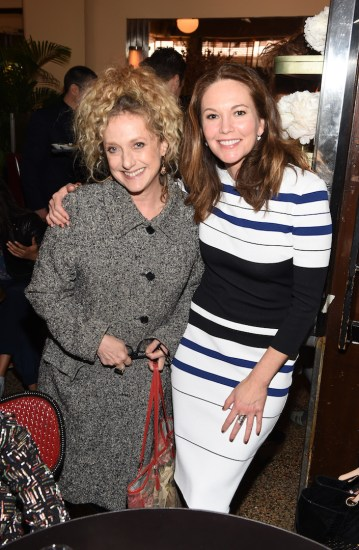 Actresses Carol Kane and Diane Lane