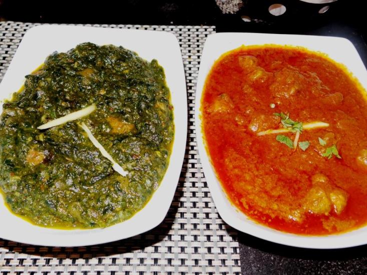 Saag Lamb & Pork Curry