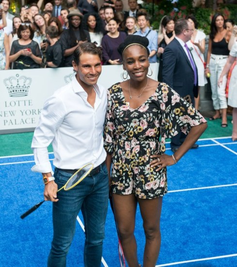 Rafael Nadal and Venus Williams Face-Off at Palace Invitational Badminton Tournament (2)