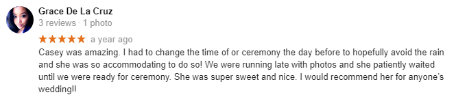 Officiant NYC Wedding Officiant Reviews New York City