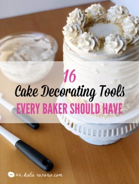 16 Cake Decorating Tools Every Baker Should Have