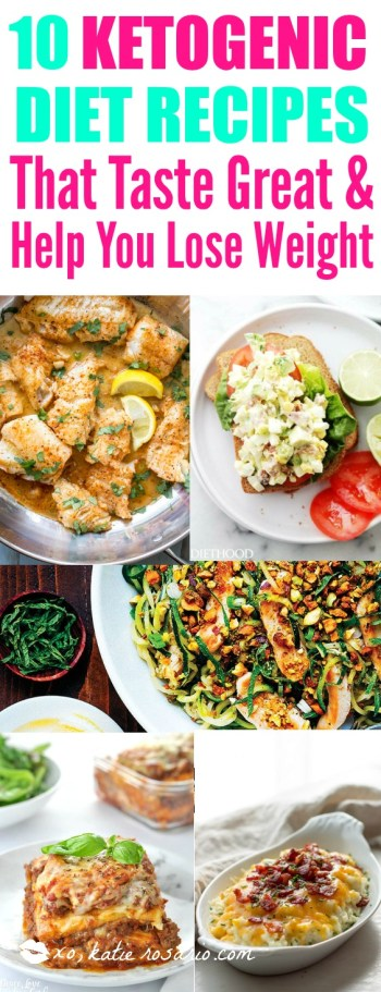 10 ketogenic healthy diet keto recipes for weight loss dinner collection. 10 Ketogenic Meals That Help You Lose Weight: OMG! I just found this out and I have to share it! Have you ever heard of a high fat, high protein and low carb diet? Did you know that such a lifestyle exists? The answer is yes! This diet is called Ketogenic Diet. This keto diet sounds crazy but totally works if you stick to eat! And what's even better you can eat bacon and lose weight! So cool! Pinning for later!