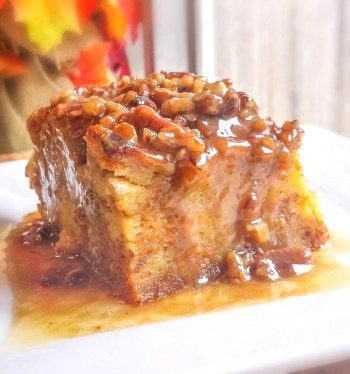 Pumpkin praline bread pudding, make this and other pumpkin desserts this fall