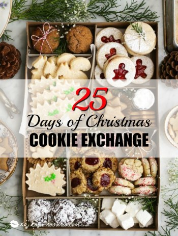 25 Days Of Christmas Cookie Exchange Katie Rosario
