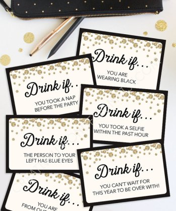 After being in a Christmas haze, New Year's Eve is coming up fast. I love this list of DIY décor ideas for a New Year's Eve party. I think these are clever and super easy. This is the time to add all the glitter and sparkles around your home. These 10 ways are perfect for any last minute party ideas. It's time to ring in the New Year with your family and friends! This is a must try! Pinning now!
