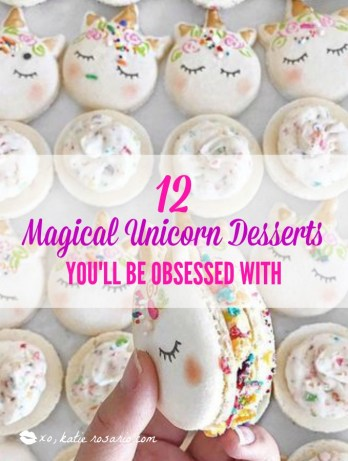 I love the unicorn trend that happening right now! The unicorn desserts are so bright and colorful and are simply magical! I think this post is a great idea because of the many recipes like unicorn cake pops, unicorn donuts, unicorn cookies and magical unicorn cakes! These treats will have everyone obsessing over your unicorn treats! This is a must try! #unicornideas #unicorncakes #unicorntreats #unicornparty #unicorndesserts #diyunicorn #cakedecorating #baking #DIYpartyideas