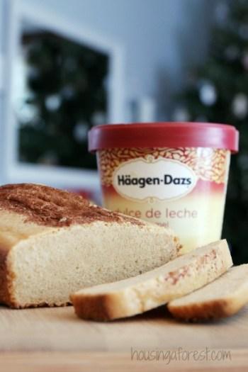 ice cream bread recipe, summer ice cream treats