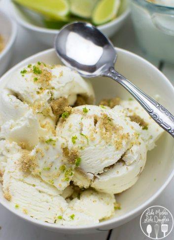 no churn key lime pie ice cream, summer ice cream treats