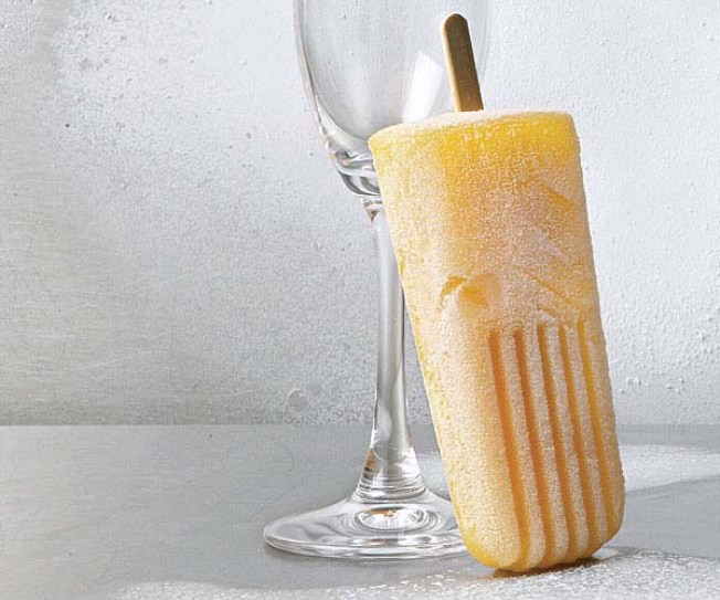 Bellini Pops, Cocktail Inspired Dessert Recipes