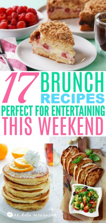 Easy Brunch Recipes Perfect for Entertaining this Weekend