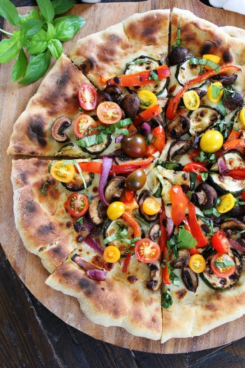 grilled vegetable pizza, easy grilling recipes