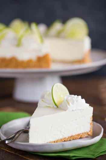 No Bake Key Lime Cheesecake, no bake summer dessert recipes